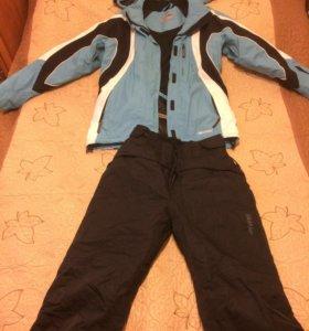 Костюм зимний женский лыжный (штаны и куртка)