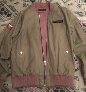 Куртка-бомбер Блэк Стар Патриот