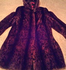 Шуба норковая размер 48-50