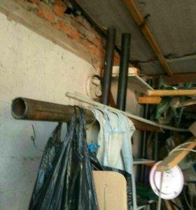 Труба стальная диам.57мм дл.5м шир стенки 3.4мм