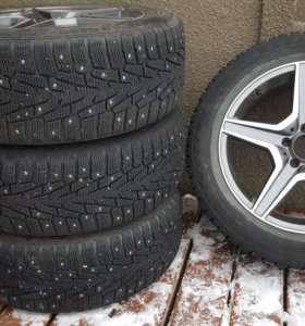 комплект зимних колес на мерседес