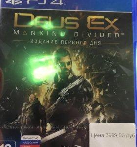 Deus Ex:mankind divided    ps4