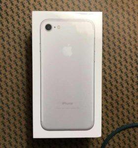 iPhone 7 Silver 32 gb Новый Оригинал Гарантия