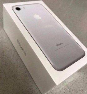iPhone 7 Silver 128 gb Новый Оригинал Гарантия