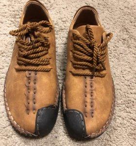 Новые мужские ботинки лето
