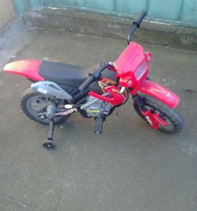 Детский мотоцикл на электронной батареи торг