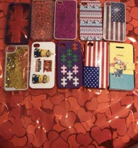Чехлы на 4,4S iphone