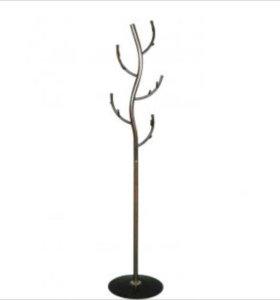 Вешалка напольная Дерево новая