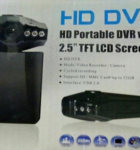 Видерегистратор HD DVR. С детектором движения.