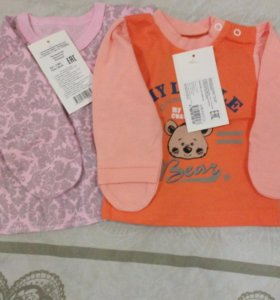 Пакет одежды для девочки р. 62.