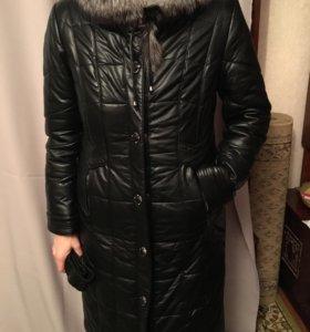 Утеплённое куртка.