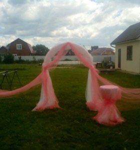 Свадебная арка аренда сутки