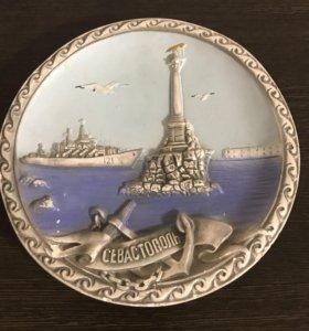 Сувенирная тарелка на стену