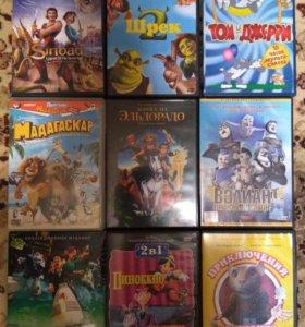 DVD-диски мультики