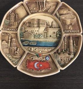 Тарелка на стену,сувенир
