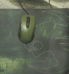 Игровая мышка и коврик TOCCAT