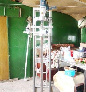 Буровая установка для скважин и проколов