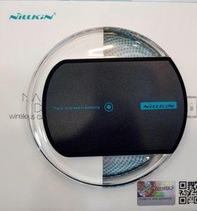 Беспроводная зарядка для iPhone (8-X), Galaxy S6-8