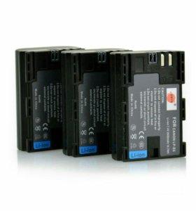 Аккумулятор LP-E6 2600 mAh для Canon новые