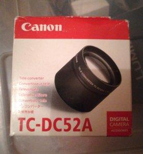 Линза Canon TC-DC52A