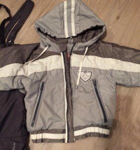Комплект курточка+штанишки