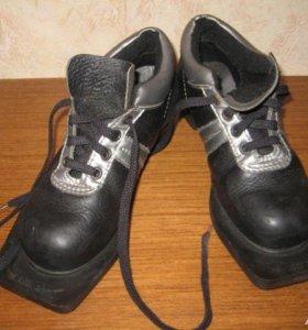 ботинки лыжные 35 и 36 размера