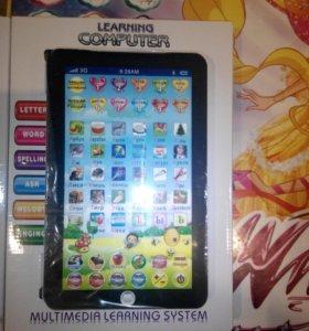 детский планшет с обучением английского языка