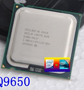 Q9650 Socket 775 Core2Quad