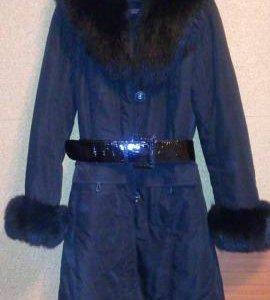 Продам зимнее пальто-пуховик на тинсулейте