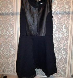 Платье трикотаж б/у