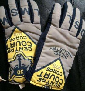 Тёплые перчатки зимние