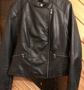 Куртка -кожанка