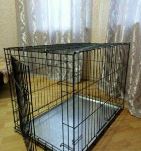 Клетка для собак средних пород!