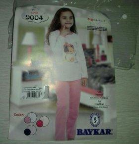 Новые пижамки для девочки