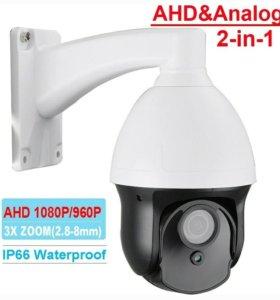 Видеокамера AHD 1080H PZT 2,8-8мм