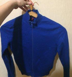 Тёмно-синяя кофта