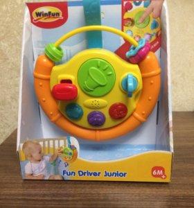 Новая игрушка руль