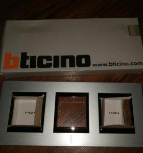 Рамка bticino italy розетки выключателя
