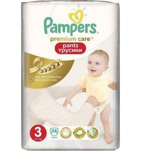 Pampers Premium Care3 Памперсы,трусики,подгузники