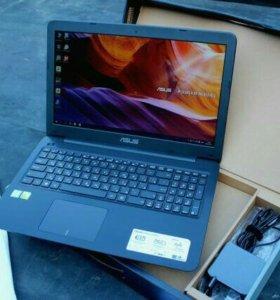 Красивый 4-х ядерный игровой ноутбук asus core i3