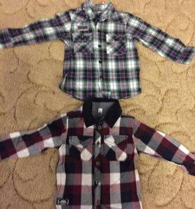 Новые модные рубашки