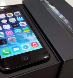 iPhone 5 Black 16Gb Оригинал