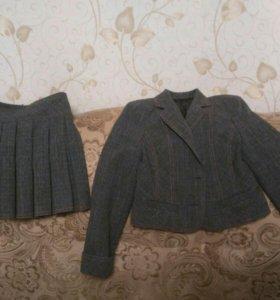 Школьный костюм четверка