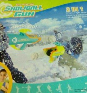 Новый снегомет 2 в 1
