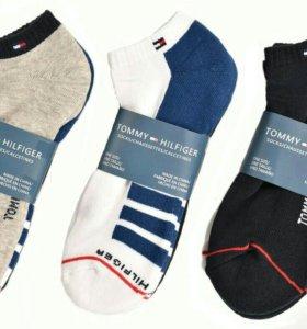 Tommy Hilfiger спортивные махровые носки упаковка