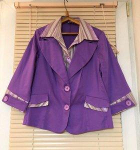 Кофты, блузки 46 р-р