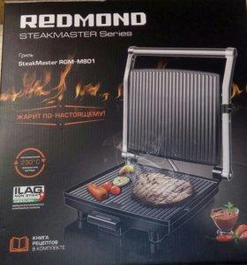 Гриль REDMOND SteakMaster RGM-M801, мощность 1800