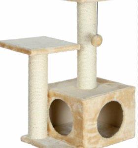 Домик-когтеточка для животных