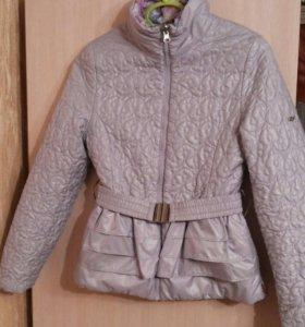 Куртка весна-осень на девочку двусторонняя