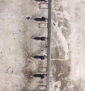 Форсунки с рейкой в сборе Бем Х5 е70 е60 е90 N52